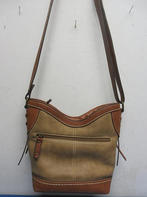 BOC brown & beige purse