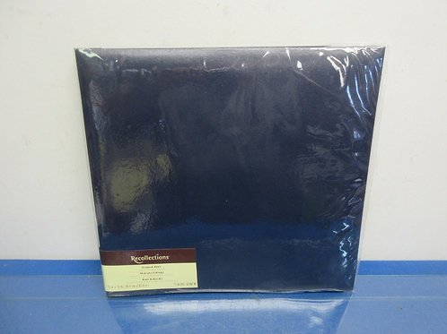 Recollections navy blue 10 page scrap book album, 12x12-Brand New