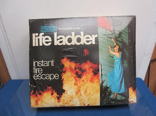 Life Ladder, instant fire escape ladder
