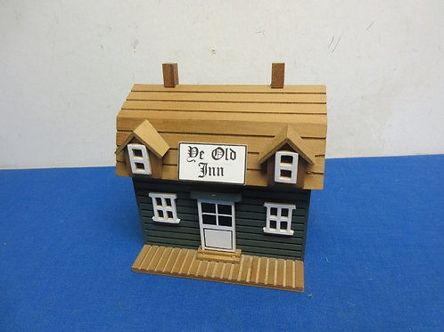"""Ye Old inn music box, man comes out of door - plays """"Those were the days"""""""
