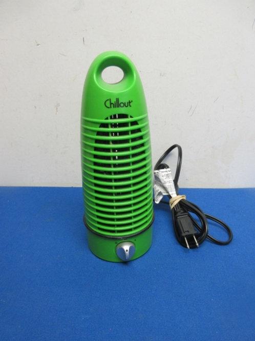 Chill out mini desk tower fan
