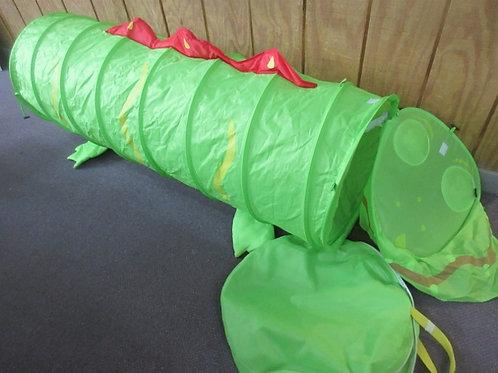 "Lime green expanding childrens climb through tunnel - 50"""