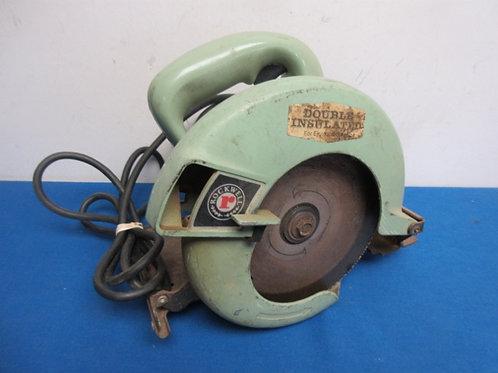 Vintage rockwell circular saw - tested