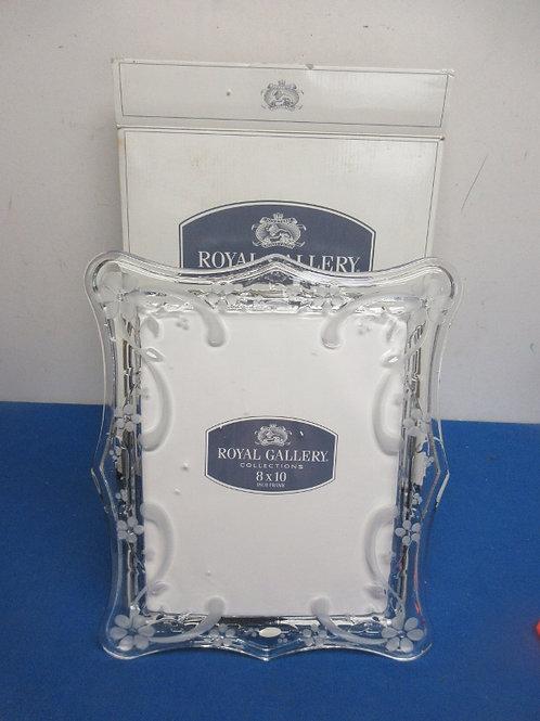 Royal Gallery Margarette 8x10 leaded crystal frame