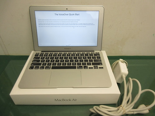 "Apple Macbook Air A1465 - 11.5"" laptop w/charger & box - 2014"