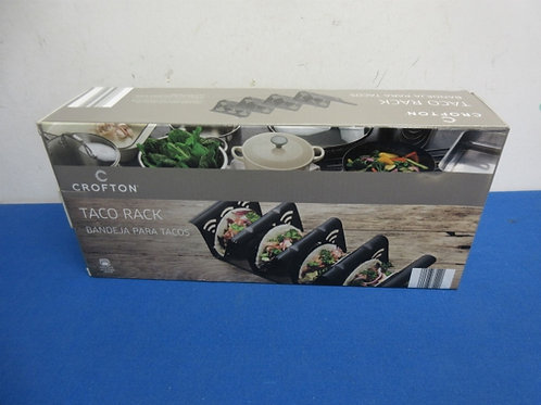 Crofton metal taco rack, new in box, 2 available