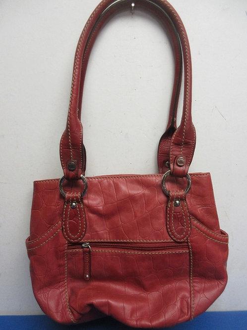 Tignanello red leather purse