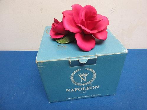 Napolean authentic capadimonte single rose