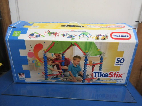 Little Tikes Tike Stix fort building set - in box