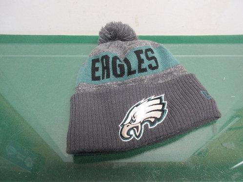 Philadelphia Eagles insulated pom pom cuffed knit hat - one size fits most