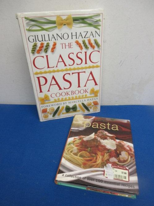 For pasta lovers,  perfect pasta & the classic pasta cookbook