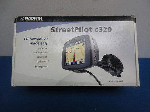 Garmin Street Pilot C320 with 2 brackets for your car