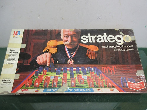 Vintage Stratego game, ages 8 to adult