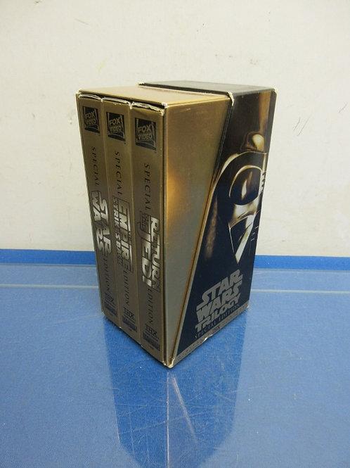 Star War Trilogy VHS