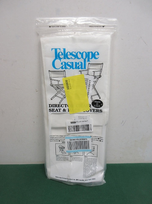 TelescopeCasual director chair seat & back cover replacements
