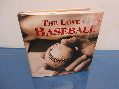 The love of baseball hardback book filled with great baseball stories