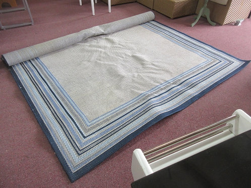 Mohawk blue & gray area rug, 8x10ft