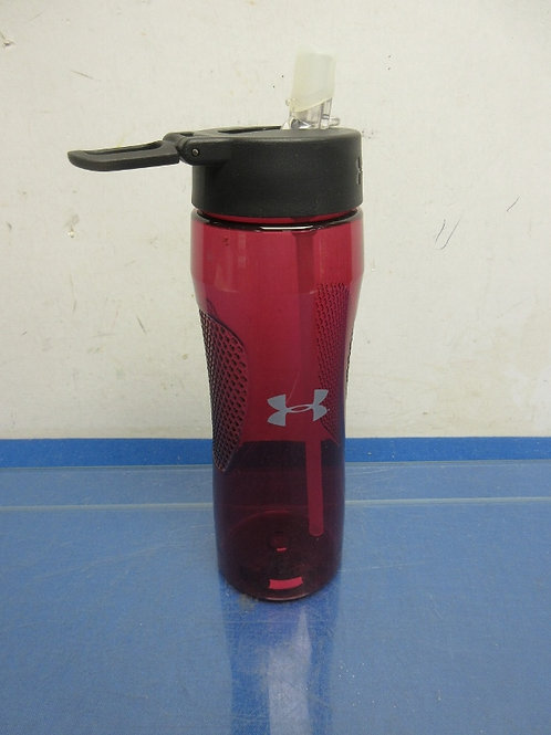 Armour All red plastic water bottle/ Red/New