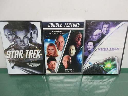 Set of 3 Star Trek Adventures, First Contact, ST Beyond, Into Darkness