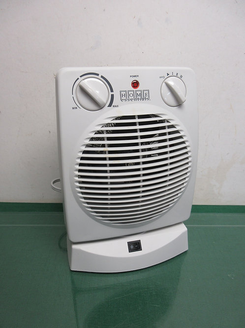 Home Essentials oscillating heter, 3 settings, in box