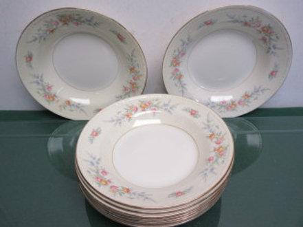 Homer Laughlin Georgian Eggshell a51n5-9 large bowls