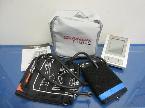 Walgreen, by Homedics blood pressure machine with 2 cuffs, regular and large