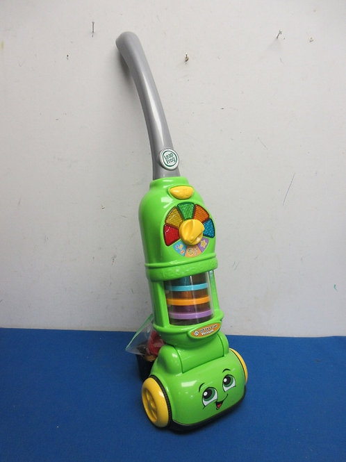 Leap frog, pick up and count, upright toy vacuum