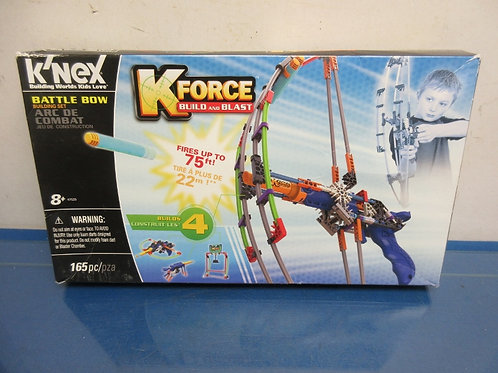 K'nex Kforce build and blast-battle bow building set, in box