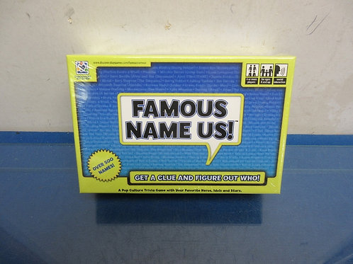 Famous Name Us-game, ages 8 &  up