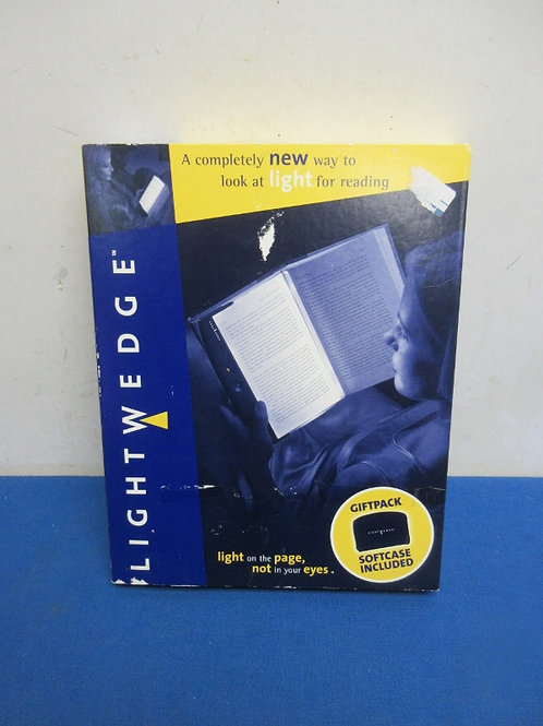 Light wedge completely new way to light when your read