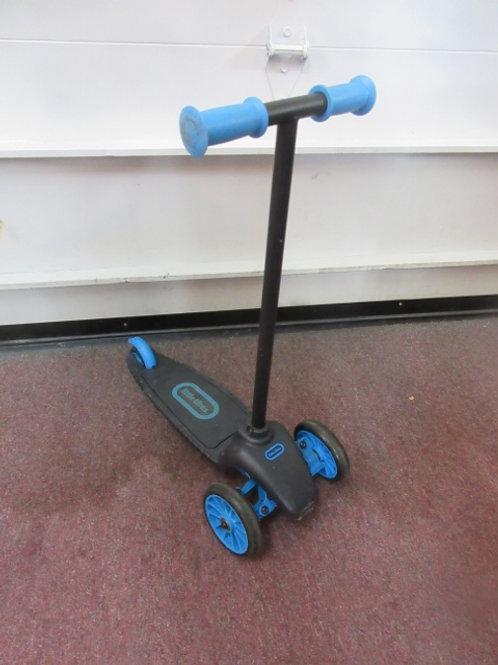 Little Tikes blue & black 3 wheel scooter