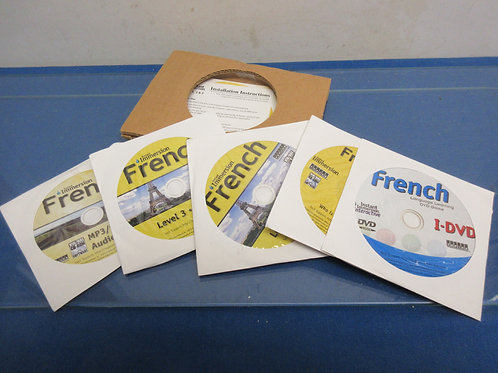 Instant Immersion french language learning DVDs