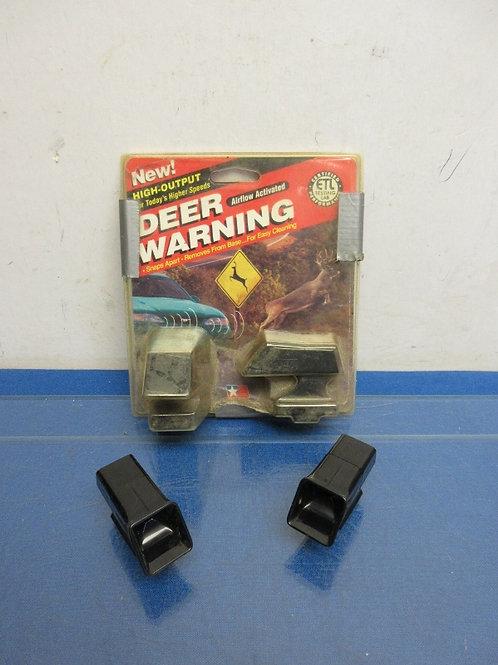 Set of 4 deer warning gizmos for your car bumper