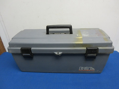 Flambeau grey heavy resin toolbox