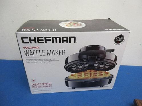 Chef man volcano waffle maker