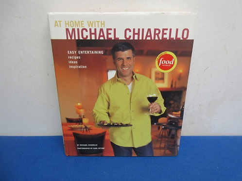 """At home with Michael Chiarello """"Food Network Cookbook"""""""