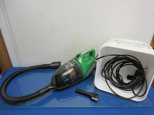 Ewbank green portable handheld chili II cyclone bagless vacuum
