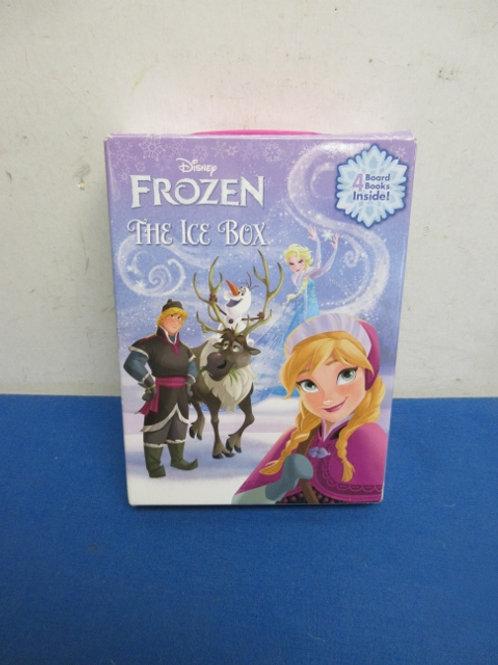 """Set of 4 """"Frozen"""" board books in holder"""