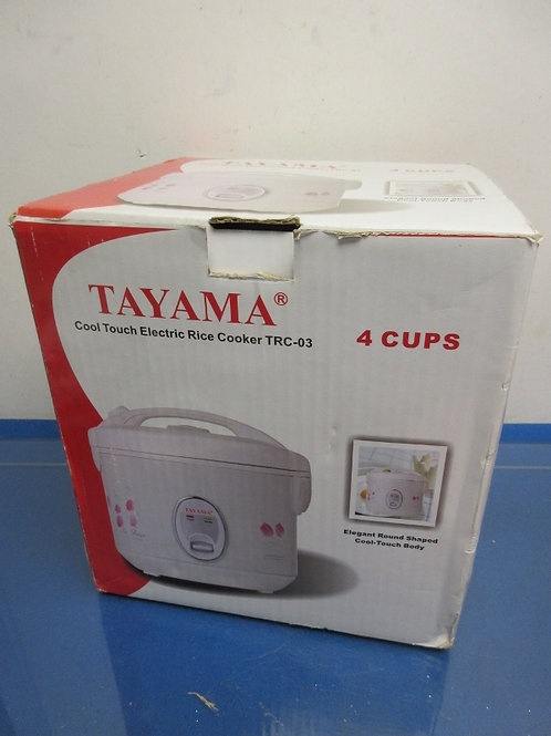 Tayama Cool Touch 4 cup electric rice cooker
