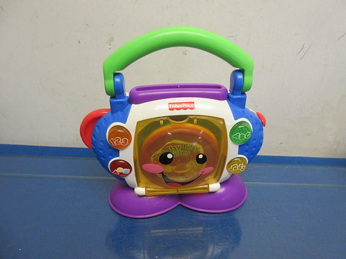 Fisher Price laugh and learn sing with me cd player with 3 CD's