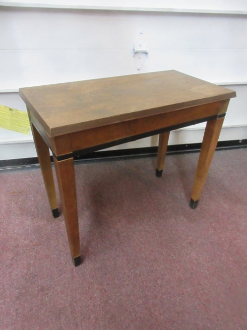 """Wood bench seat,top lifts up for storage, 13x26x23""""high"""