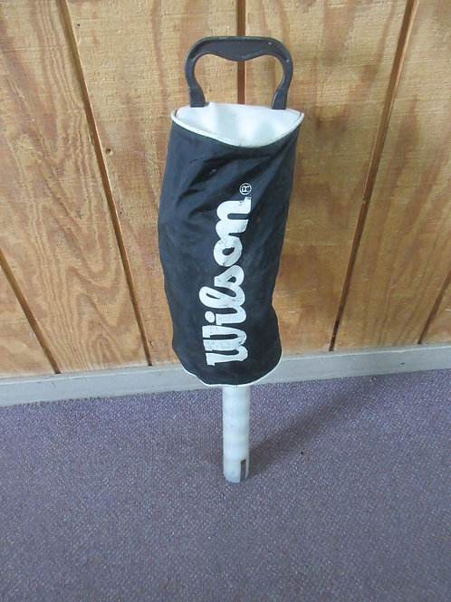Vintage Wilson golf ball shag bag filled with golf balls