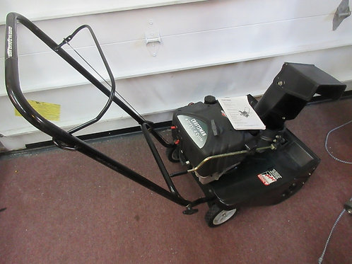 """Craftsman gas snow throwe,21""""4 cycle-rubber edge of  auger needs replaced"""