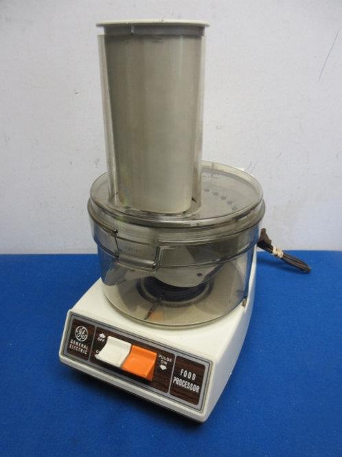 GE electric food processor