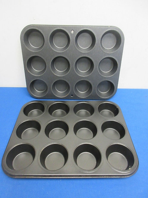 Pair of muffin pans