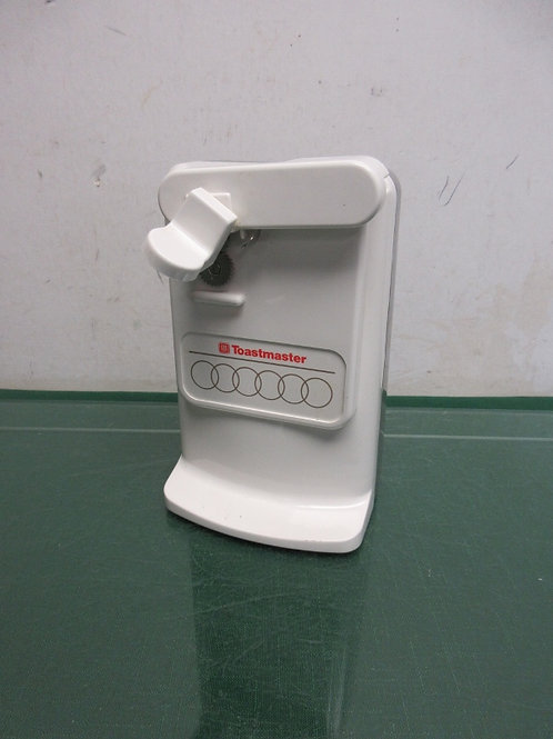 Toastmaster white electric can opener