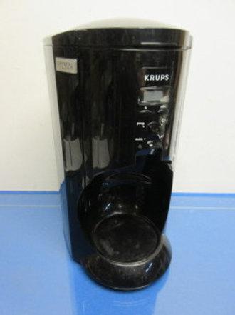 Krups push to dispense coffee maker - black