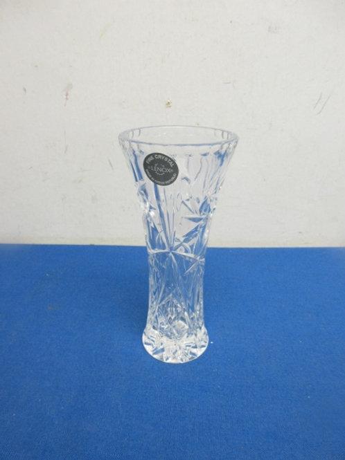 "Lenox fine crystal vase - 6"""