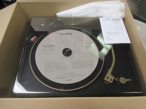 Heyday wireless turn table in box