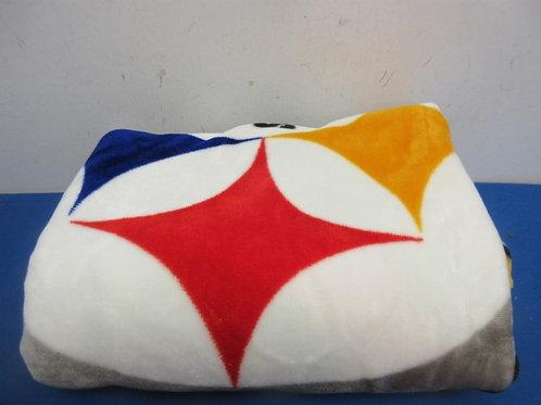 """Steeler blanket, 40x50"""""""